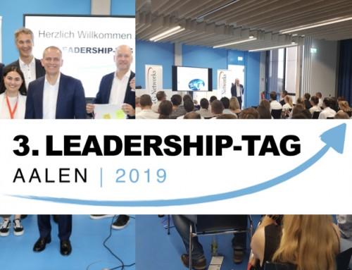 Rückschau: Der 3. Leadership-Tag Aalen am 5. Juni 2019 – ein gelungenes Event